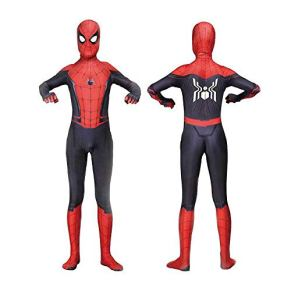 werty Cosplay Ropa Spiderman Anime Costume Marvel Movie Rights Cosplay Clothes Hero Expedition Christmas Halloween Disfraces para Adultos/Niños Ropa Adult-XXL