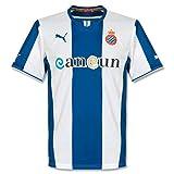 Puma Espanyol 2013/14 - Maillot de Foot Réplique à Domicile Bleu/Blanc M Bleu - true blue-white