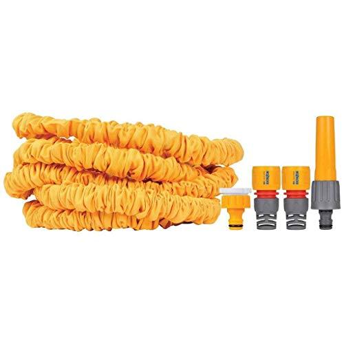 Hozelock superhoze Extendable hose, Yellow, 7.5M