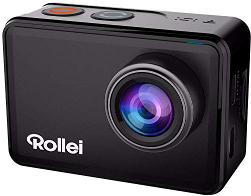 Rollei Actioncam 560 Touch - WiFi Action-Cam impermeabile 4k 60 FPS - Sport-Cam con touchscreen