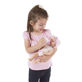 Melissa & Doug - Annie, muñeco bebé Que Hace pipí, 31 cm (14880)