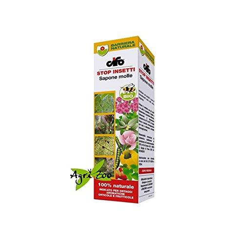 Cifo Sapone Molle Formulato per Afidi e Ragni Protezione piante frutta ortaggi e aromatiche - 200 ml