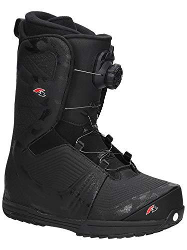 Sconosciuto F2 - Stivali da Snowboard da Uomo Eliminator Dual TGF, Nero, 30