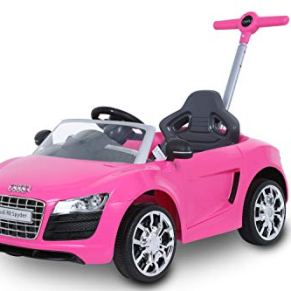 Rollplay 44393Audi Push Car, Color Rosa