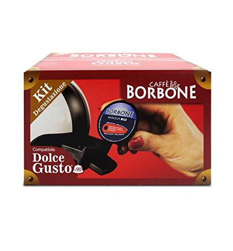 Caffè Borbone Kit Degustazione Compatibile Nescafè* Dolce Gusto* - 90 Capsule
