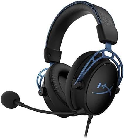 HyperX HX-Hscas-BL/WW Cloud Alpha S - Gaming Headset mit Virtual 7.1 Surround Sound und Verstellbarem Bass