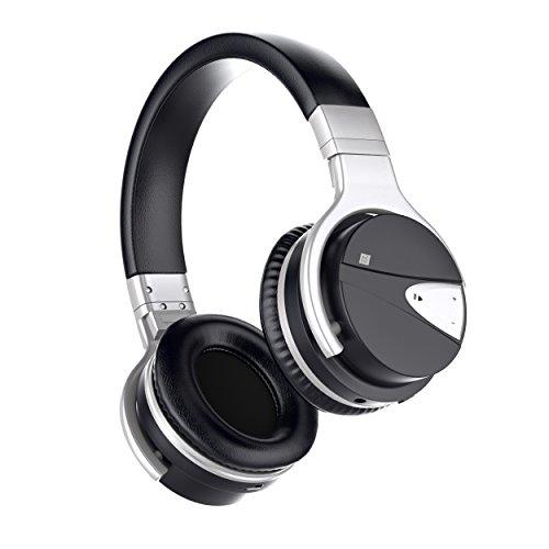 Bluetooth Auriculares, Boostek Auriculares Bluetooth Auriculares Inalámbrico Auriculares Ajustable con Micrófono Incorporado