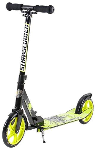 Star-Scooter XXL City Scooter Monopattino Grande per Una Posizione Stabile Anche sulla Strada per la...