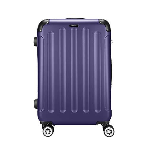 Amasava Valigia rigida, valigie, valigia trolley medio, 65 cm, 67 litri, lucchetto TSA, 4 ruote...