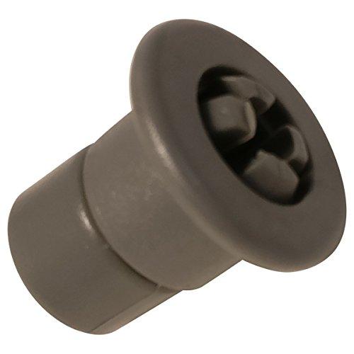 Roulette del carrello superiore grigia-Lavastoviglie-Far, Curtiss, generiss, Lazer, Proline,...