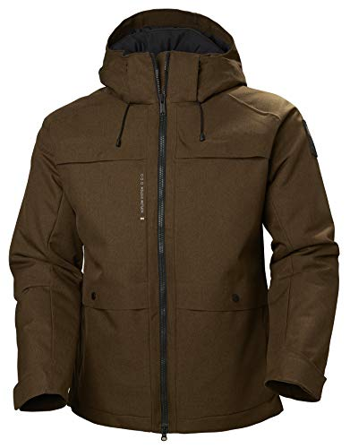 Helly Hansen Chill Eskimo Parka, Giacca Invernale Unisex - Adulto, Bark Brown, 2XL