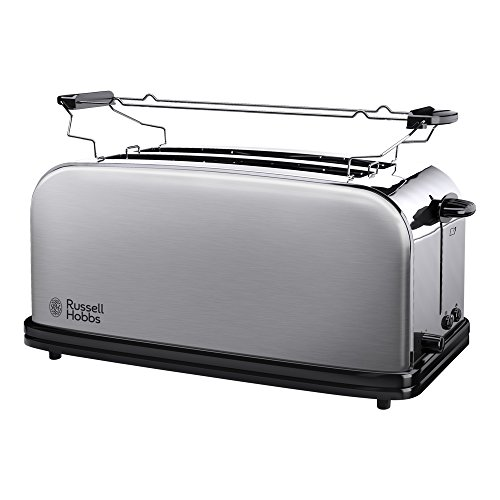 Russell Hobbs 23610-56 Tostapane Lungo in Acciaio Spazzolato, 1200 W