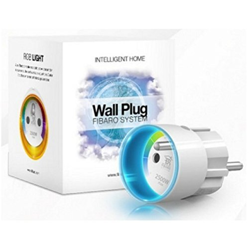 FIBARO Wall Plug/ Prise Intelligente Type E, Z-Wave +