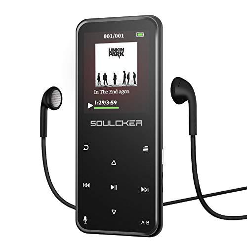 Lettore MP3, Bluetooth 8 g portatile lossless Sound MP3 lettori musicali, Digital Audio Music player...