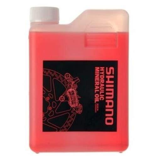 SHIMANO SM-Db, Olio Minerale per Freni a Disco, Rosso, 1 l