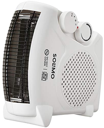 Amazon Brand - Solimo 2000-Watt Room Heater (White, Ideal for small to medium room/area)