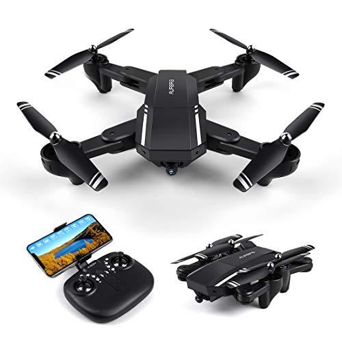 LBLA Pieghevole Drone con Telecamera HD 720P 120 ° Grandangolare FPV WiFi giroscopio a 6 Assi...
