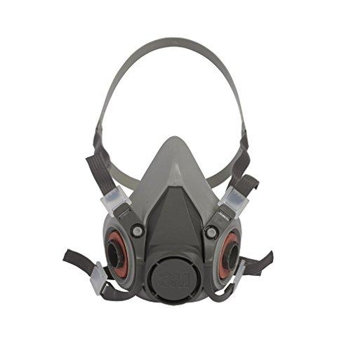 3M 3M-6200 Half Facepiece Reusable Respirator, Without Cartridges(Medium) 9