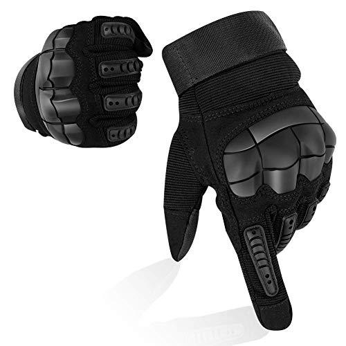 YuamMei 1 Paio Guanti Tattici Militari, Guanti Touch Screen Full Finger per Combattimento, Moto da...