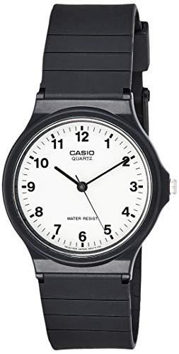 Casio Orologio Analogico Quarzo Uomo con Cinturino in Resina MQ-24-7BLL