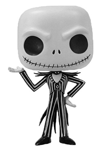 FUNKO Pop! Disney: Nightmare Before Christmas - Jack Skellington Toy action figure Disney: Nightmare Before Christmas - action figures & collectibles (Toy action figure, Dibujos animados, Disney: Nightmare Before Christmas, Negro, Color blanco, Vinilo, Caja)