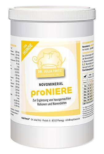 napfcheck Novomineral proniere - minerales, vitaminas y aminoácidos para Perros Enfermos de riñón y Ramas caseras - 1000 g