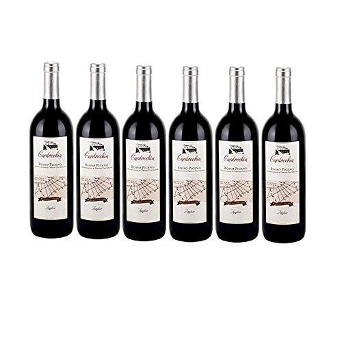 Vino Rosso Amplico Rosso Piceno | 2015 | Cardocchia - 6 Bottiglie
