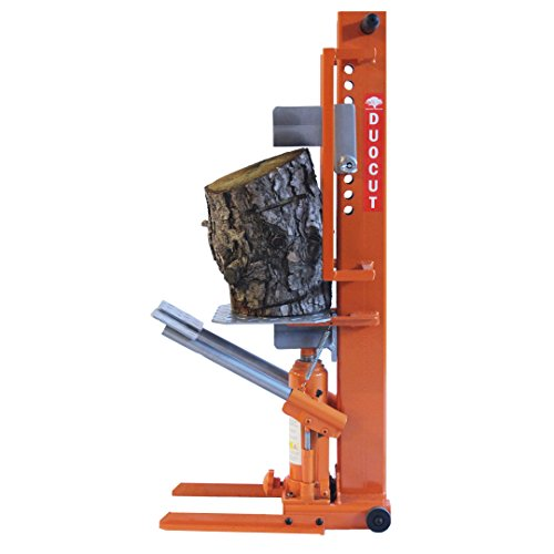 It also features two foot pedals, these can be used when splitting larger logs in the vertical upright position, in this position, it will split logs up to 600mm (24 inches) in diameter without too much effort.
