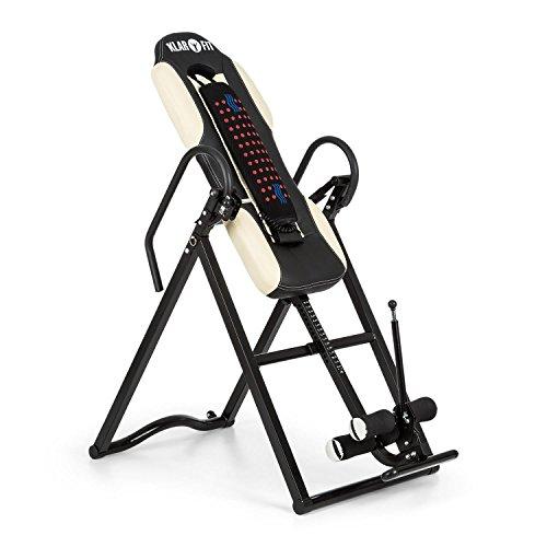 Klarfit Ease Delux • Panca ad Inversione Gravitazionale • Per massaggi alla schiena con funzione...