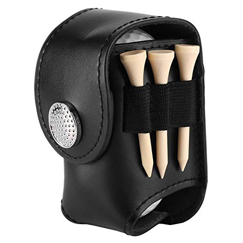 Zerone Golf Ball Bag Holder Clip Utility Pouch Sports Golfing Tackle Set with Balls Tees