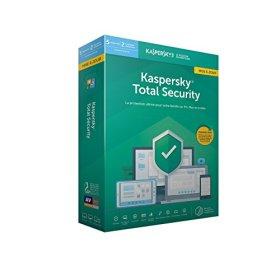 Kaspersky Total Security - Mise à jour 2019 5 appareils 1 An PC/Mac/Android Téléchargement