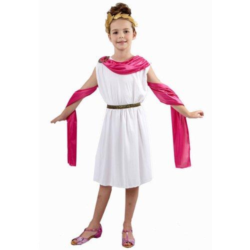 Girl - Disfraz de diosa antigua para niña, talla 4-6 años (U37 783)