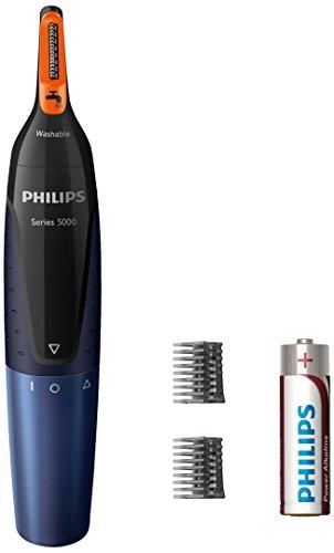 Philips NT5180/15 Tondeuse Nez-Oreilles Series 5000 avec kit de manucure inclus