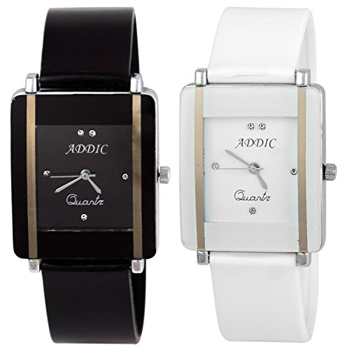 Addic Analogue Multicolour Dial Combo Of Two Women's Watch - AddicCW726