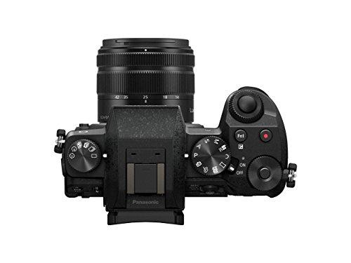 Panasonic DMC-G7 -  Kit cámara digital de 16 Mp y objetivo Standard Zoom LUMIX G VARIO 14-42 mm, negro