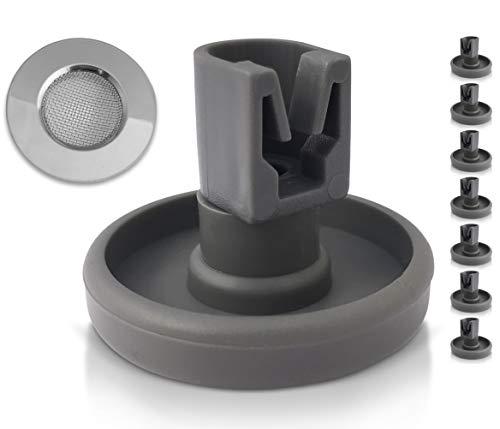 Rotelle per cestello della lavastoviglie: 8 rotelle di ricambio per lavastoviglie, compatibili con...