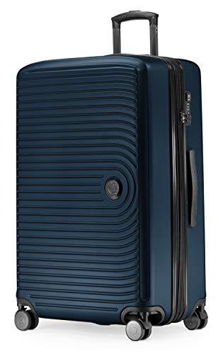 HAUPTSTADTKOFFER - Mitte - Grossa valigia a rotelle, Trolley rigido con estensione da 8 cm, TSA, con...