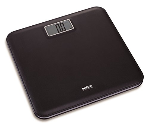 Digital Human Weighing Scale, High Quality Leather Look Fiber Body, Capacity 180 Kg with Accuracy and minimum capacity 12 Kg