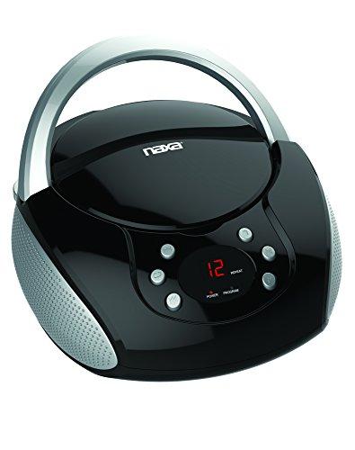 NAXA Electronics NPB-240 Portable CD Boombox