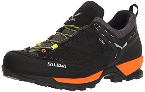 Salewa Herren MS MTN Trainer GTX Trekking- & Wanderhalbschuhe, Schwarz (Black Out/Holland 8668), 40.5 EU