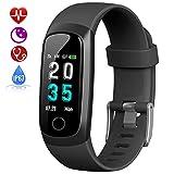HETP Pulsera de Actividad Inteligente, Reloj Inteligente Hombre Mujer con Pulsómetro y Presión Arterial Reloj Deportivo Podómetro GPS Impermeable IP67 Cronómetro Smartwatch para Android iOS Teléfono