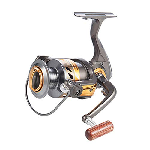 Mele 12 + 1BB Testa di Metallo No Gap Spinning Wheel Pesca Reel 1000-7000 Serie Sea Rod Wheel Pesca Lure Accessori,4000model