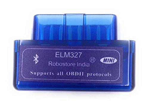 Android Torque ELM 327 2.1V OBD2 Car Diagnostic Wireless Scan Tool (Blue)