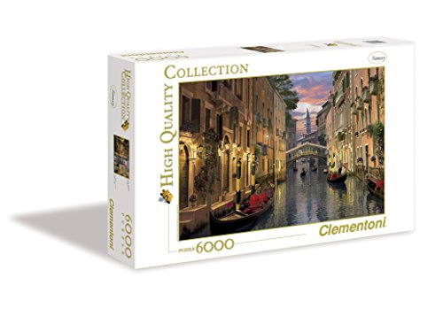 Clementoni Puzzle 36517 - Venice - 6000 pezzi High Quality Collection