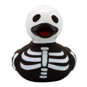 LiLaLu Pato de Goma Pato del baño Flotante Pato Pato Recoger de Halloween Corona superhéroe: Tipo: Pato Esqueleto