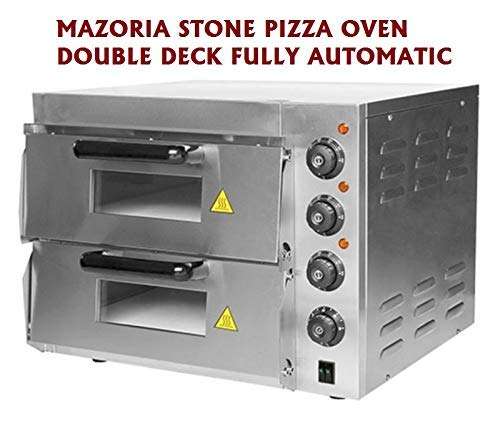 FROTH & FLAVOR Commercial Double Deck Pizza Oven | Baking Oven | Pizza Maker high Quality