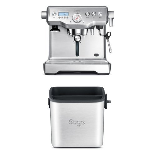 Sage The Dual Boiler espresso coffee device (brushed stainless steel) (1 cup, 2 cups) (15 bars, 9 bars)