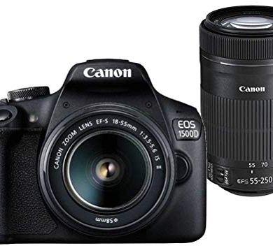 Canon EOS 1500D Digital SLR Camera (Black) 4
