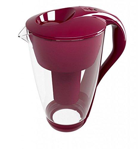 Dafi Crystal (LED) Classic 2L water filter jug (pink)