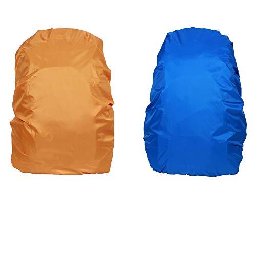 Copertura Zaino Impermeabile Antipioggia per All'aperto 40-55L (Colore Casuale)